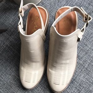 Sugar Shoes - Cream Booties